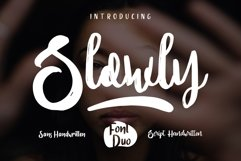 SLOWLY Font Duo Product Image 1