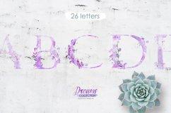 Watercolor alphabet - DREAMS Product Image 1