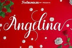 Angelina Script Product Image 1