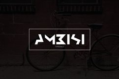 Ambisi Typeface Font Product Image 1
