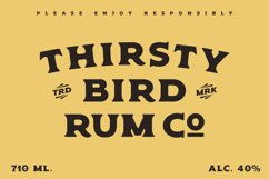 Old Spirits Display Font Product Image 2