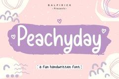 Peachyday Fun Handwritten Font Product Image 1