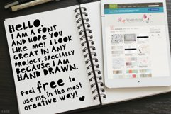Art Plot Bold Hand Drawn Font Product Image 3