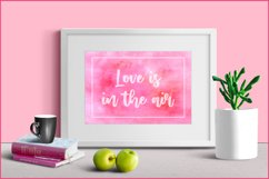 Watercolor Background Pink, Sublimation Watercolor Textures Product Image 3