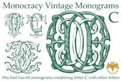 Monocracy Vintage Monograms Pack ABC Product Image 5