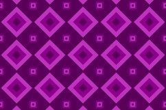 16 Seamless ThreeTone Square Patterns Product Image 4