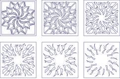 Layered Mandala SVG, Laser cut file, Cricut Mandala, Flower Product Image 7