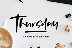 Thursday - Handwritten Font Product Image 1
