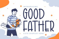 Good Father - Cute Display Font Product Image 1