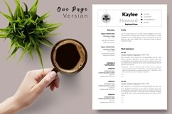 Nurse Resume CV Template for Word & Pages Kaylee Howard Product Image 2