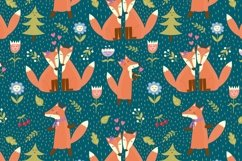 Fox Tales: patterns & clipart Product Image 5