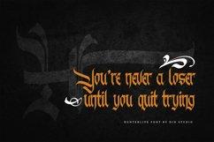 Hunterlife-Blackletter Font Product Image 5