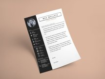 Elegant Minimalistic Resume Template With MS Word Product Image 6