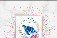 Sea Turtle Ocean Wildlife PNG Sublimation Design Product Image 3