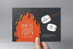 Bonfire Night Flyer Template v2 Product Image 2