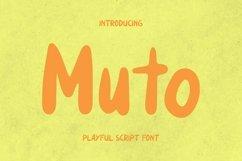 Web Font Muto Font Product Image 1