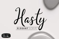 Hasty Elegant Font Product Image 1