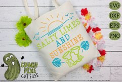 Salty Limes and Sunshine Summer Beach SVG Product Image 3