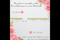 16 Seamless Glitter Dripping Melted Overlay Images 16 Colors Product Image 8