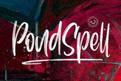 Pondspell Brush Font Product Image 1