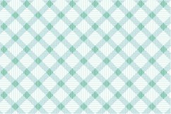 Green Textile Seamless Patterns. Product Image 6