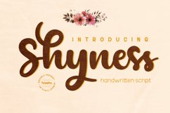 Shyness Product Image 1