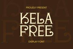 Kela Free Font Product Image 1