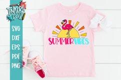 Summer Vibes Flamingo SVG Product Image 4