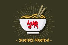 Sakura Japanese style font Product Image 3