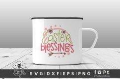 Easter Blessings SVG | Easter SVG| Easter Cut File Product Image 2