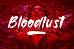 Bloodlust Brush Font Product Image 1