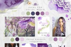Ultra Violet watercolor collection Product Image 2