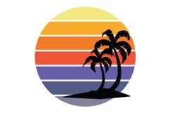 Tropical Sunset Bundle DIY Kit SVG Product Image 3