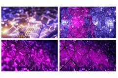 14 abstract futuristic backgrounds Product Image 4