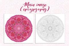 Mandala. JPG, EPS, PNG. Product Image 2