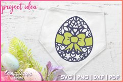 MANDALA EASTER EGGS SVG 3 MANDALA / ZENTANGLE DESIGNS Product Image 4