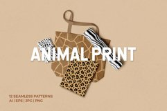 Animal Print Seamless Patterns Product Image 1