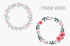 Set of watercolor wild summer flowers cliparts. Product Image 5