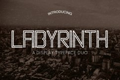 Labyrinth Typeface Product Image 1