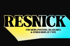 Resnick - Display Font Product Image 13
