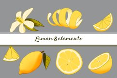 Lemon digital Set Yellow / Gray Product Image 3