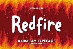Web Font Redfire Product Image 1