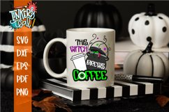 This Witch Brews Coffee Halloween SVG Cut File Product Image 2