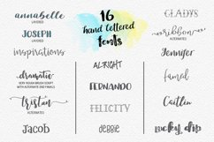 Lucky Dip Hand Lettered Font Bundle Product Image 2