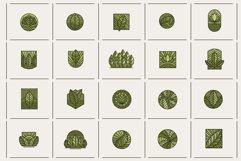 Line Leaf Logo Design / Leaf Svg / Plant Svg Product Image 5
