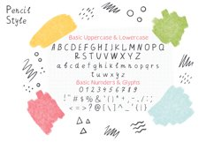 Pencil & Pen Handwritten Font Product Image 3