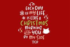 Jealous Kitty - Christmas Happy Font Product Image 4