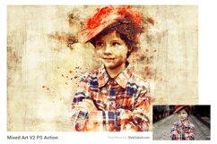 Mixed Art 2 Photoshop Action Product Image 2