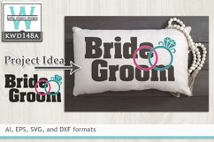 Wedding SVG - Bride and Groom Product Image 1
