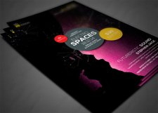 Minimal Colors Flyer Template Product Image 3